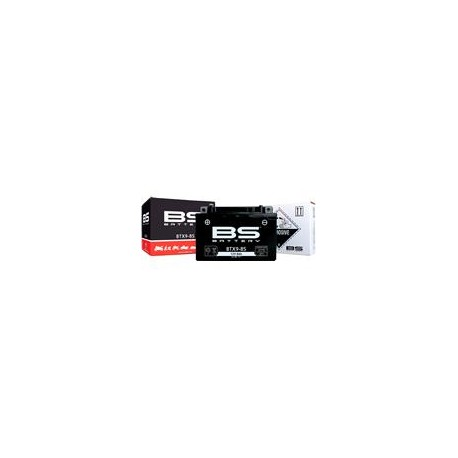 Batterie Bs Btx9-Bs Sans Entretien Livrée Avec Pack Acide
