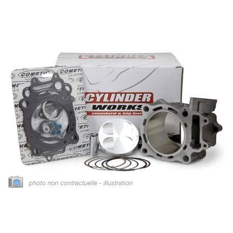 Kit Cylindre-Piston Cylinder Works Pour Honda Crf250r/X '04-09, 250Cc Ø78mm