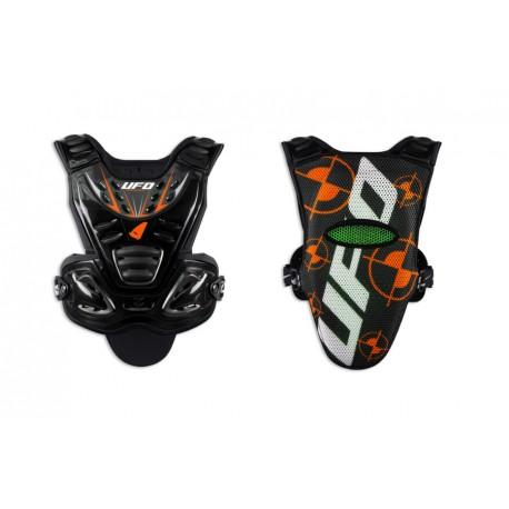 Pare-pierre Valkyrie 2 Evo noir/orange UFO- T S/M