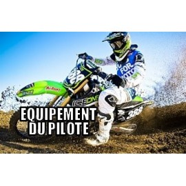 Equipement du pilote cross/enduro